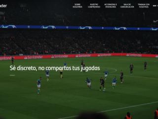 """""""Juntos creamos #UnaAficionMasSegura"""", nuestra nueva campaña con Banco Santander"""